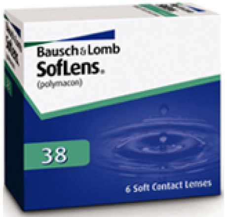 Soflens 38  contact lenses from the manufacturer Bausch & Lomb in category Optica Iberica