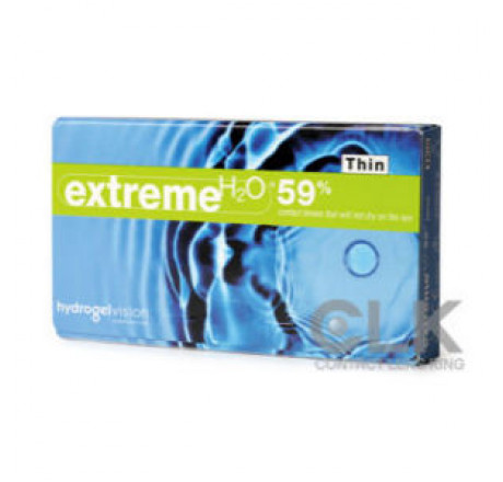 Extreme H2O 59% Thin (6) contact lenses from the manufacturer HydrogelVision in category Optica Iberica