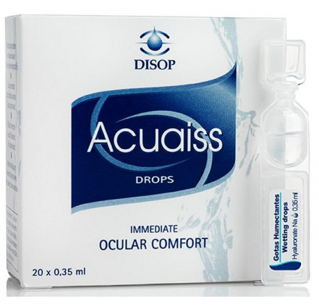 Acuaiss 20x0,35 ml from the manufacturer Disop in category Optica Iberica