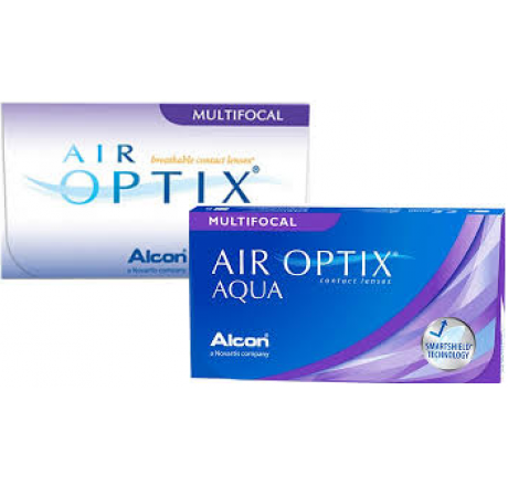 Air Optix Aqua Multifocal (6) contact lenses from the manufacturer Alcon / Cibavision in category Optica Iberica