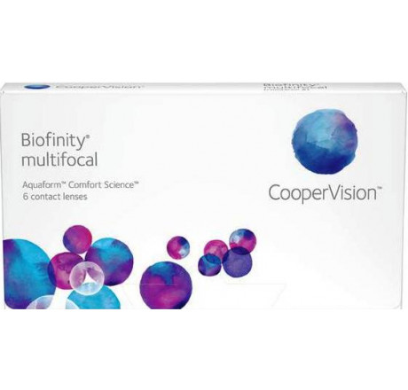 Biofinity Multifocal (6) contact lenses from the manufacturer CooperVision in category Optica Iberica