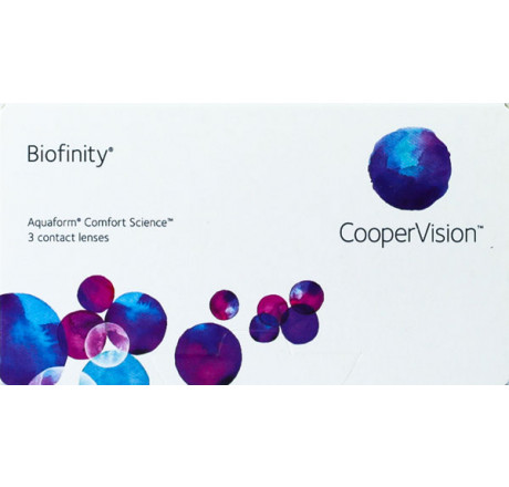 Biofinity (3) contact lenses from the manufacturer CooperVision in category Optica Iberica