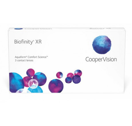 Biofinity XR (6) contact lenses from the manufacturer CooperVision in category Optica Iberica