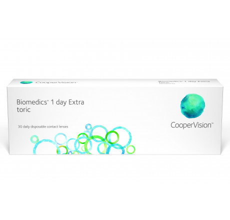 Biomedics 1 Day Extra Toric (30) contact lenses from the manufacturer CooperVision in category Optica Iberica