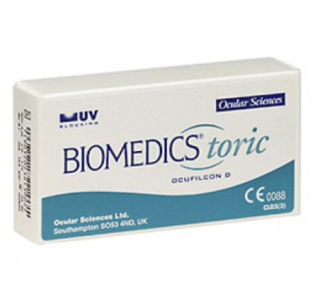 Biomedics Toric (6) contact lenses from the manufacturer CooperVision in category Optica Iberica
