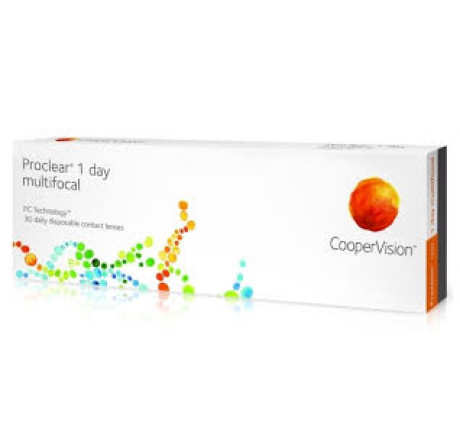 Proclear 1-Day Multifocal (30) contact lenses from the manufacturer CooperVision in category Optica Iberica
