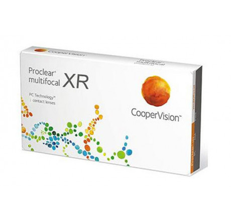 Proclear Multifocal XR (3) contact lenses from the manufacturer CooperVision in category Optica Iberica