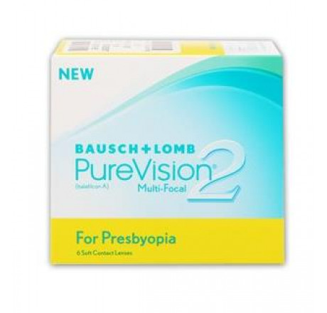 PureVision2 for Presbyopia (6) contact lenses from the manufacturer Bausch & Lomb in category Optica Iberica