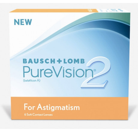Purevision2 HD For Astigmatism (6) contact lenses from the manufacturer Bausch & Lomb in category Optica Iberica