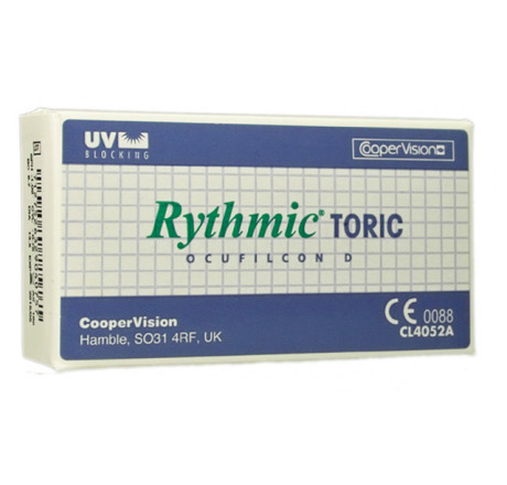 Rythmic Toric UV (6) contact lenses from the manufacturer CooperVision in category Optica Iberica