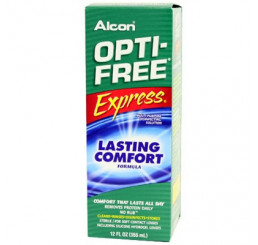 Optifree Express 1 x 355 ml. from the manufacturer Alcon / Cibavision in category Manufacturer