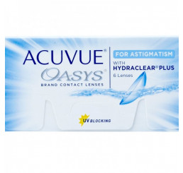 Acuvue Oasys for Astigmatism (6) from the manufacturer Johnson & Johnson in category Acuvue