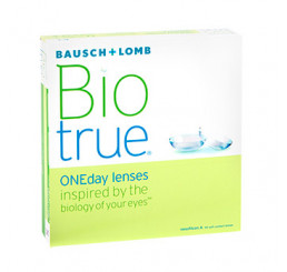 Biotrue ONEday (90) from the manufacturer Bausch & Lomb in category Manufacturer