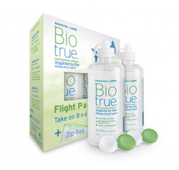 Biotrue Flight Pack - 2 x 60ml. from the manufacturer Bausch & Lomb in category Optica Iberica