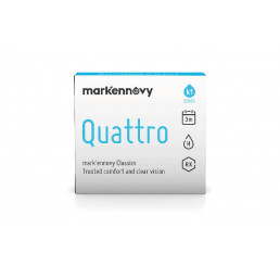 Mark'ennovy Quattro Toric 3-monthly contact lenses