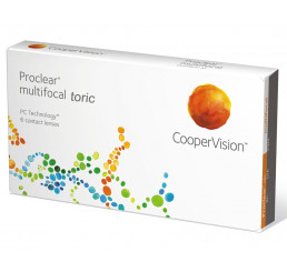 Proclear Multifocal Toric  (6) from the manufacturer CooperVision in category Bifocal lenses