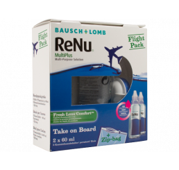ReNu MultiPlus Flight Pack 2x60 ml from the manufacturer Bausch & Lomb