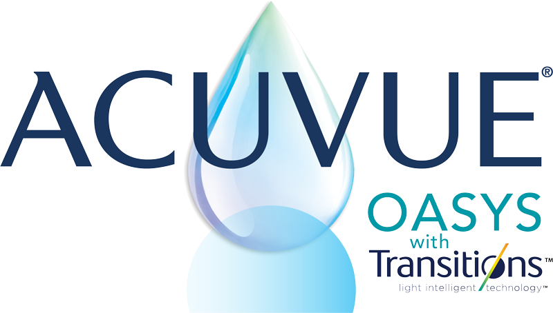 Acuvue Oasys contact lenses with Transitions